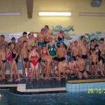 Zawody pływackie 29.10.2013