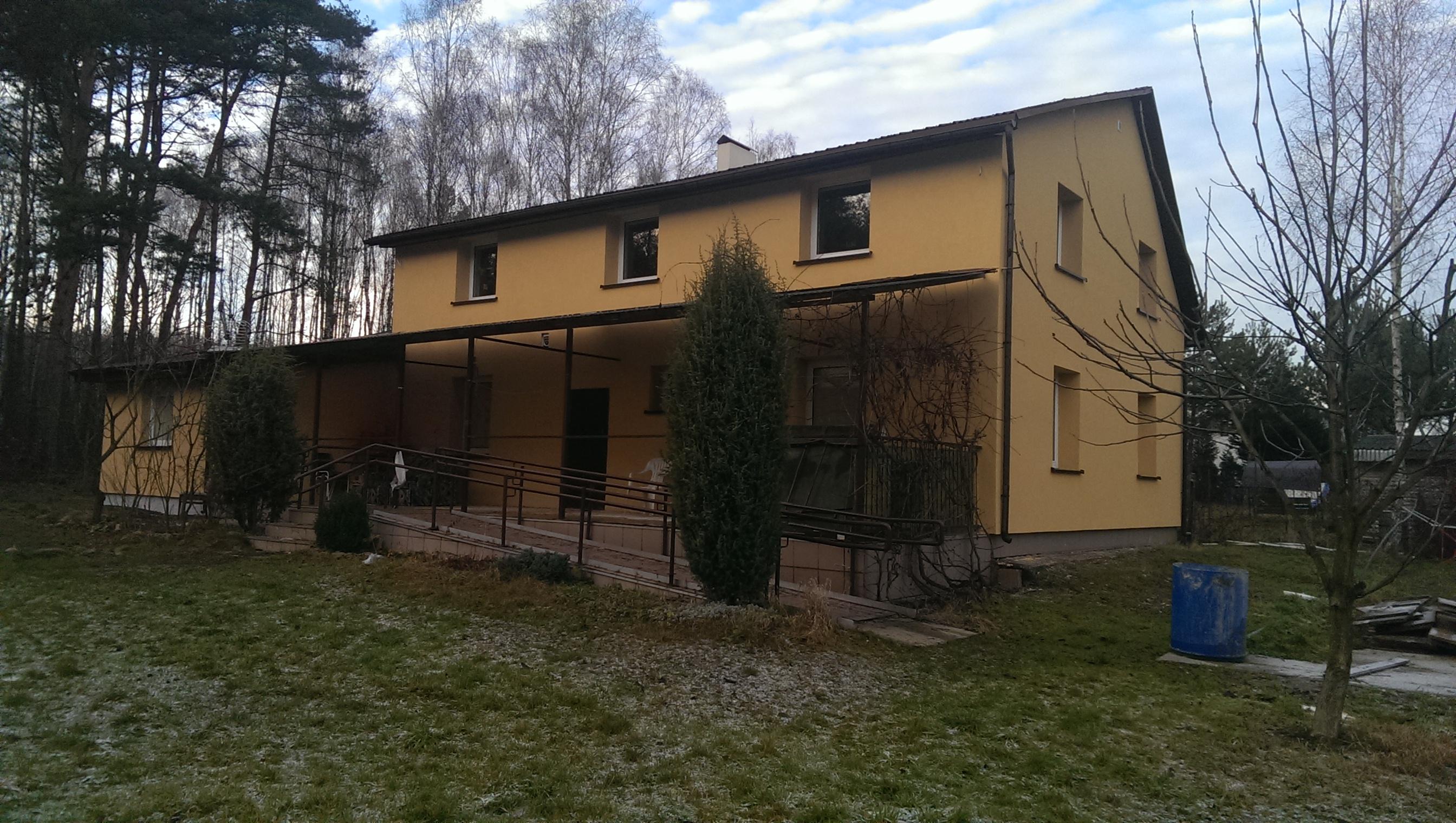Aktualny widok po ociepleniu budynku.