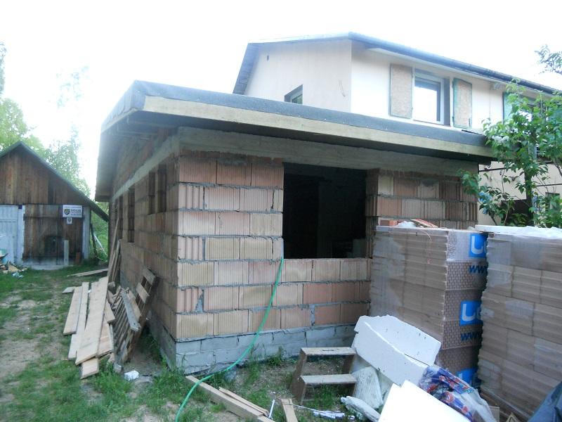 mamy pokrycie dachu papą